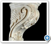 hand carved-Marble-corbel (2)