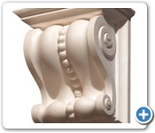 hand carved-Marble-corbel (3)