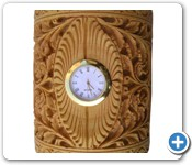 wooden_PEN_holder with_CLOCK (9)